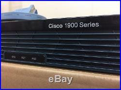 CISCO1921-SEC/K9 Cisco 1921 Gigabit Ethernet Router with Security SAMEDAYSHIPPING