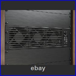 CLOUDPLATE T9, Rack Mount Cooling Fan Panel 3U Exhaust, AV Equipment 19 Rack