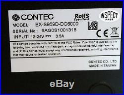 CONTEC DTx Industrial Thin Client BX-S959D-DC6000 1.86GHz 2GB RAM Metal Box PC