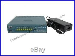 Cisco ASA5505-SEC-PLUS Firewall, Unlimited Users & Security Plus with Power Supply