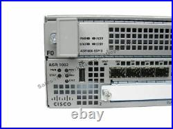 Cisco ASR1002-10G/K9 Chassis with Dual AC Power ASR1000-ESP10 1 YEAR WARRANTY