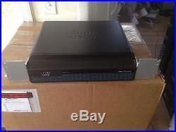 Cisco CISCO1941-/K9 2-Port + 2 EHWIC Slots Gigabit Ethernet Router IP Base MW