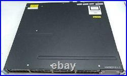 Cisco Catalyst 3750-X WS-C3750X-48T-S single C3KX-PWR-350WAC 1 year warranty