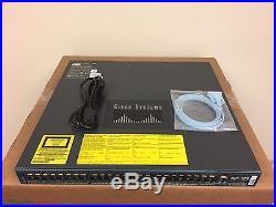 Cisco Catalyst 4948 WS-C4948-S 48 Port L3 Gigabit Switch Single AC SAME DAY SHIP