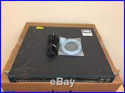 Cisco Catalyst WS-C3560G-48PS-S 48-Port Gigabit PoE Switch 15.0 (SAME DAY SHIP)
