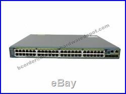 Cisco WS-C2960S-48LPS-L 48-Port 10/100/1000 PoE+ Switch 2960S 1 Year Warranty