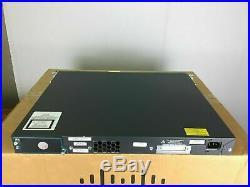 Cisco WS-C2960S-48LPS-L 48-Ports PoE+ Gigabit Switch 1 YEAR WARRANTY
