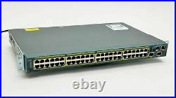 Cisco WS-C2960S-48TD-L 48-Port Gigabit 2960S Switch WITH C2960S-STACK