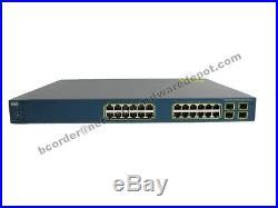 Cisco WS-C3560G-24PS-S 24-Port 10/100/1000 PoE 3560 Switch 1 Year Warranty