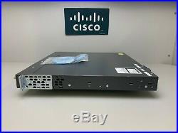 Cisco WS-C3560X-24P-L 24-Port Gigabit PoE+ Switch COMES WITH C3KX-NM-1G