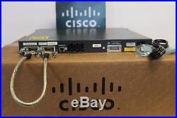 Cisco WS-C3750G-48TS-S 48 Gigabit Ports Layer 3 Switch 3750G-48TS-E ios 15.0-tar