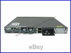 Cisco WS-C3750X-48P-L 48-Port 10/100/1000 PoE with C3KX-NM-1G 1 Year Warranty