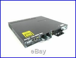 Cisco WS-C3750X-48P-L 48-Port PoE+ 3750X Gigabit Switch SameDayFastShipping