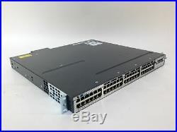 Cisco WS-C3750X-48PF-S 48-Port PoE 3750X Gigabit Switch 1 YR WARRANTY FASTSHIP