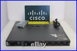 Cisco WS-C4948 WS-C4948-S 48 Port L3 Switch Dual Power Same As WS-C4948-E