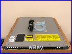 Cisco WS-C4948E-S 48 Port Layer 3 Gigabit Switch IP Base 4 x 10G SFP+ Single AC