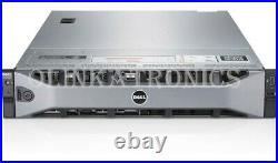 DELL POWEREDGE R730xd SERVER 12 BAY LFF 10 CORE E5-2660 V3 32GB H730 ENTERPRISE