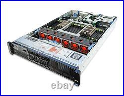 DELL POWEREDGE R820 SERVER 8 SFF 4x 8 CORE E5-4620 64GB RAM
