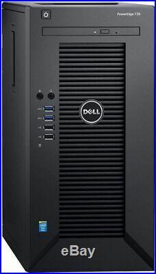 DELL POWEREDGE T30 SERVER XEON E3-1225 v5 8GB 1TB HDD DVD/RW SHIPS FAST