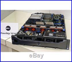 DELL PowerEdge R710 Server 2×Xeon Six-Core 2.66GHz + 48GB RAM + 4×300GB SAS RAID