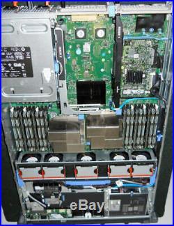 DELL PowerEdge R710 Server 2×Xeon Six-Core 2.66GHz + 96GB RAM + 8×120GB SSD RAID