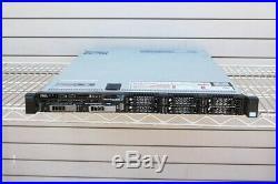 DELL Poweredge R620 2 x SIX CORE 2.60GHZ E5-2630v2 64GB 2 x 300GB SERVER QTY//