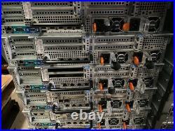 DELL R720 (8 BAYS) 2 x E5-2650 V2 @ 2.60GHz 128GB RAM 4 x 900GB HDD H710