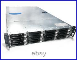 Dell PowerEdge C6100 4-Node 12-Bay 8x E5620 32-Core 2.4Ghz 128GB 9260-8i Rails