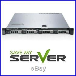 Dell PowerEdge R420 Server 2x E5-2430v2 = 12 Cores 48GB H310 2x HDD Trays