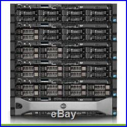 Dell PowerEdge R510 Server 2x 2.26GHz E5520 8 Cores 16GB PERC6i 4x Trays