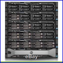 Dell PowerEdge R510 Server 2x 2.66GHz 12 Cores CPU 16GB 2x Trays iDRAC