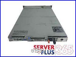 Dell PowerEdge R610 Server 2x 2.4GHz 8-Core 32GB 2x 300GB 6G PERC 6i 2x power