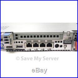 Dell PowerEdge R610 Server Dual Xeon X5550 QC 2.66GHz 24GB 2x 73GB H700 RPS