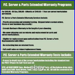 Dell PowerEdge R620 Server 2x E5-2630 v2 2.6GHz 6C 64GB H710 2x 300GB