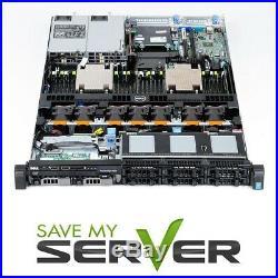 Dell PowerEdge R630 Server 2x E5-2630v3 2.4GHz 8C 128GB 2x 250GB SSD Evo