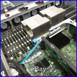 Dell PowerEdge R710 3.5 Server 2x 2.93GHz X5570 32GB 2x Trays DVD