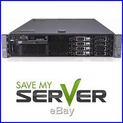Dell PowerEdge R710 8-Core 2.5 Server 48GB RAM PERC6i iDRAC6 2x 146GB SAS