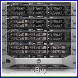 Dell PowerEdge R710 LFF Server 2x 2.26GHz L5520 8 Cores 8GB RAM 2x Trays