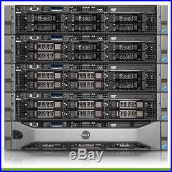 Dell PowerEdge R710 Quad Core 3.5 Server 24GB RAM PERC6i iDRAC6 + 4 Trays 1PS