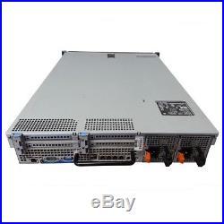 Dell PowerEdge R710 SFF Server 8-Core 2.5 HDD 48GB PERC6i iDRAC6