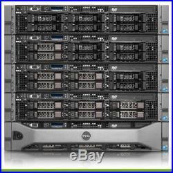 Dell PowerEdge R710 Server 2x 2.66GHz X5550 64GB RAM 1TB Storage
