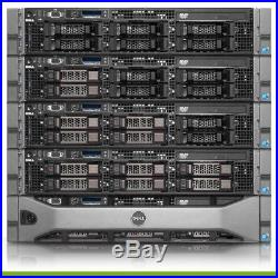 Dell PowerEdge R710 Server 2x X5680 3.33GHz 6-Core 64GB RAM H700 6 + Trays