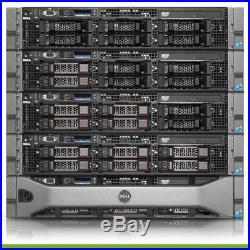 Dell PowerEdge R710 Virtualization Server 4-Core 48GB 4x300GB 15K 1.2TB PERC6i