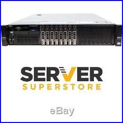 Dell PowerEdge R720 SFF Server 2x E5-2620 6C 16GB H310 iDRAC 2x Trays