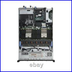 Dell PowerEdge R720 Server 2x E5-2650L=16 Cores 64GB H710 4x 900GB DVD