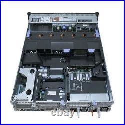 Dell PowerEdge R720 Server / 2x E5-2670 2.6GHz = 16 Cores / 32GB RAM / 2x Trays