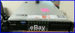 Dell PowerEdge R720 Server 2x Xeon E5-2643 3.3Ghz 32GB RAM Dual PSU H310 8x500GB