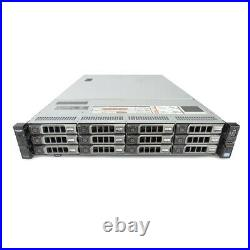 Dell PowerEdge R720XD Server 2x E5-2670 16 Cores 64GB H710 24TB Storage