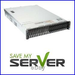 Dell PowerEdge R720XD Server 2x E5-2680 2.7GHz =16 Cores 128GB 4x 900GB SAS