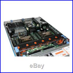 Dell PowerEdge R720xd Server 2x E5-2670 2.6GHz 8C 128GB 24 SFF H710 Enterprise